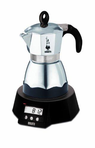 Bialetti Easy Timer elektrischer Espressokocher für 3...