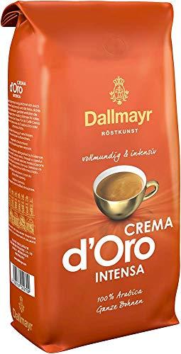 Dallmayr Kaffee Crema d'oro Intensa Kaffeebohnen, 1er...