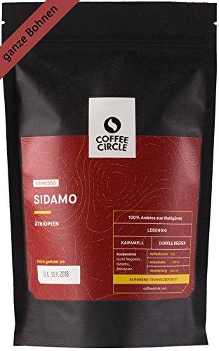 Coffee Circle | Premium Espresso Sidamo | 1kg ganze...