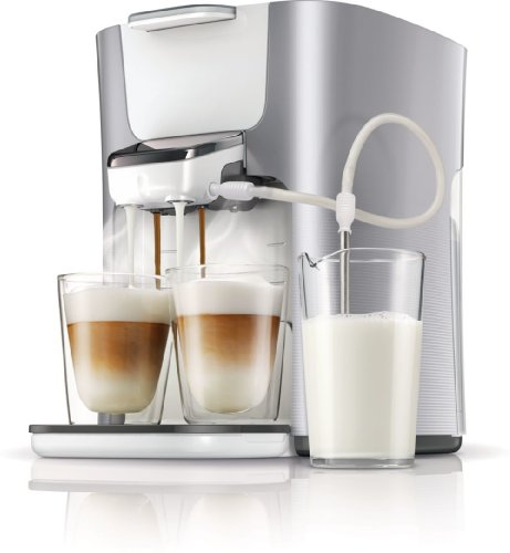 Senseo HD7857/20 Latte Duo Kaffeepadmaschine (2 Kaffee...