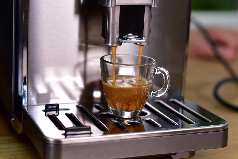 Espresso in Glas