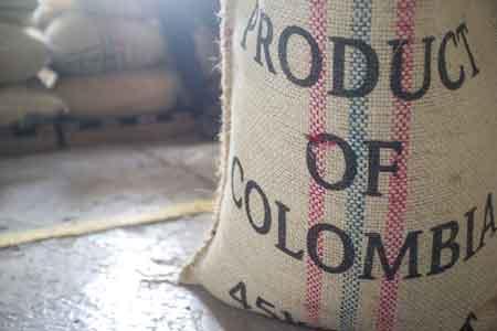 Kaffeesack aus Kolumbien