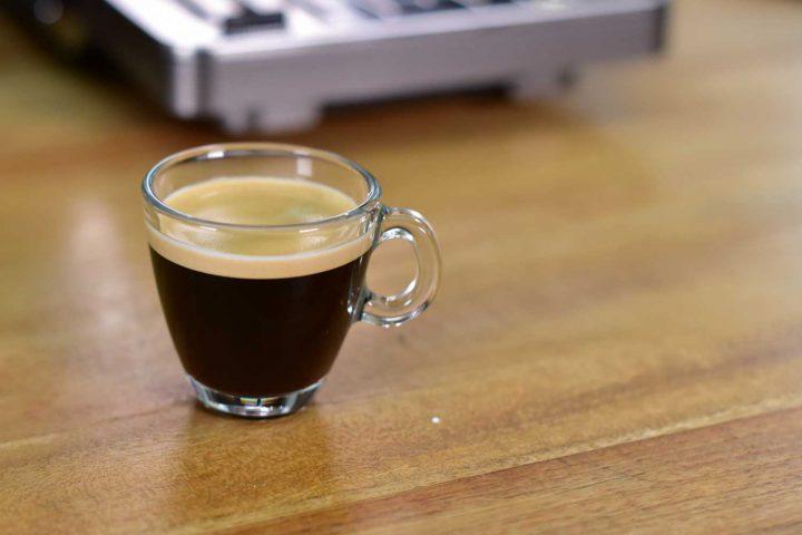 Crema bei Espresso