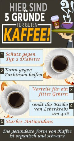 5 Gründe für guten Kaffee