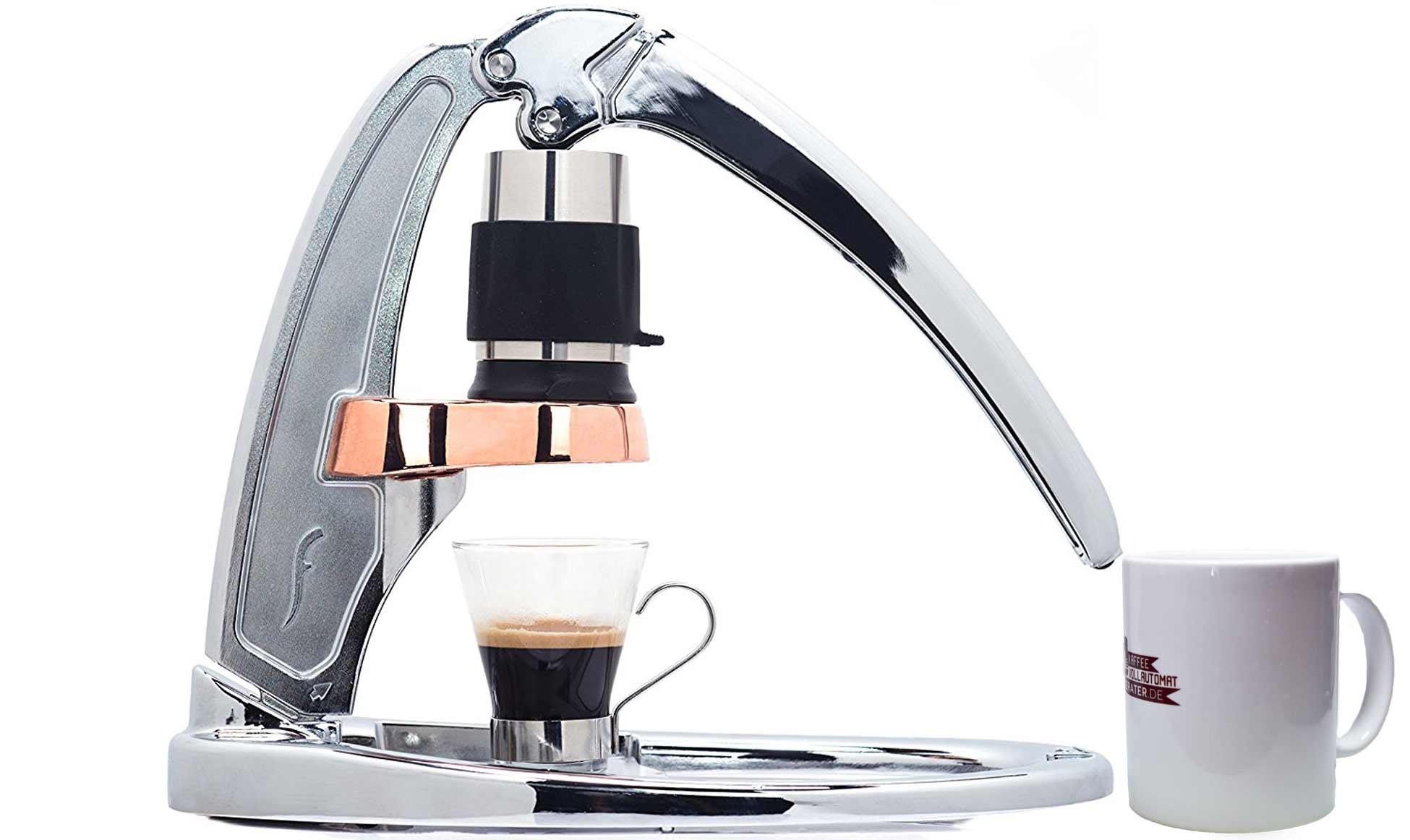 flair espresso maker die exklusive art einen espresso herzustellen. Black Bedroom Furniture Sets. Home Design Ideas