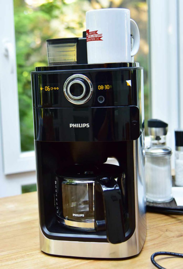 Philips-HD776600-Kaffeemaschine-Mahlwerk