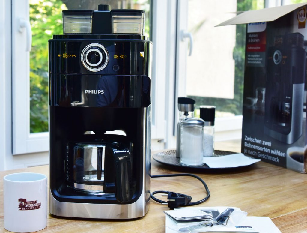 Kaffeemaschine mit Mahlwerk von Philips